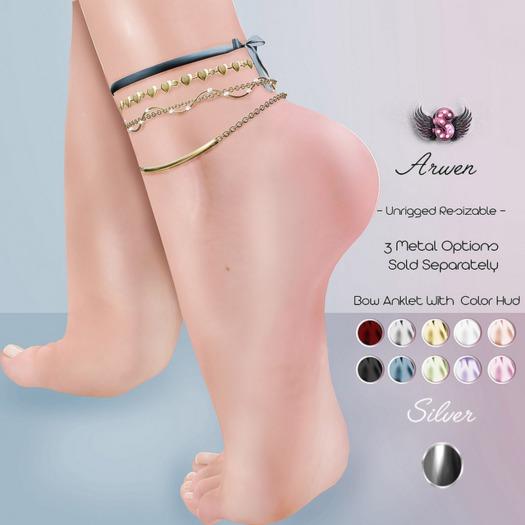 .:: Supernatural ::. Arwen Anklet Silver