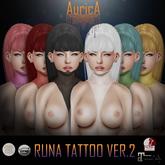 .:AS:. Runa Tattoo ver 2 UNISEX