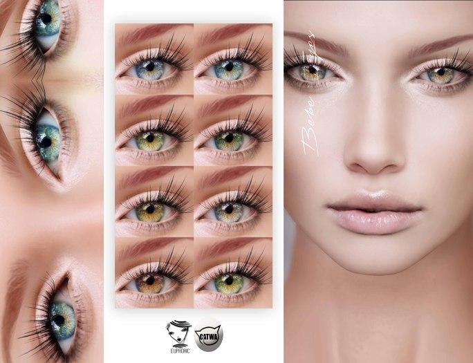 .euphoric ~Bebe Eyes[Mesh & System& Catwa Applier]