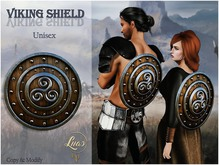 Luas Viking Shield - Original Mesh