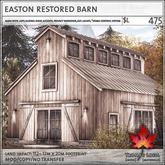 Trompe Loeil - Easton Restored Barn [mesh]