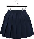 NYU - Pleated Mini-Skirt, Navy