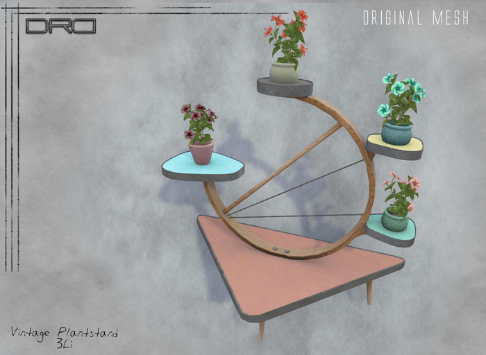 -DRD- vintage plantstand