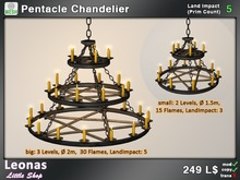 Pentacle Chandelier