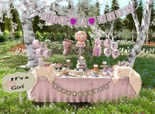 Aphrodite Its a girl Baby shower complete set