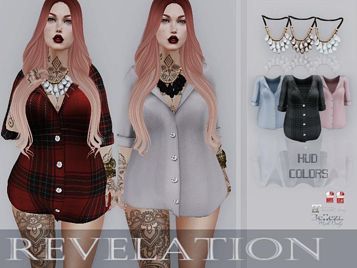 :::Revelation::: Caitlin blouse colors