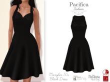 Pacifica Fashion – Marylin Black 50s Dress (Belleza, Maitreya, Slink)