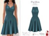Pacifica Fashion - Marilyn Blue 50s Dress (Belleza, Maitreya, Slink)