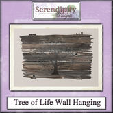Serendipity Designs - Ranchers Coll - Tree of Life Wall Hanging