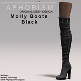 !APHORISM! Molly Boots - Black