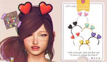ninety - Valetin HeadBand  [ Gift ]