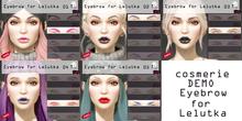DEMO: cosmerie: Eyebrow for Lelutka