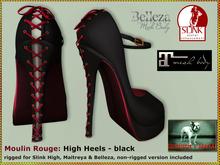 Bliensen + MaiTai - Moulin Rouge - shoes - high heels for Maitreya Slink Belleza