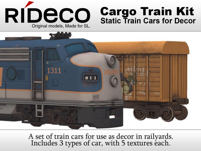 RiDECO - Cargo Train Kit