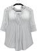 NYU - My Boyfriend's Shirt, Stripe/Black
