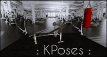 :KPoses Backdrop Gym Poses :