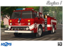 Fire Truck; HD One Series Engine 1