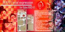 [HD] bento Facial expression HUD for 6doo HUCI-01