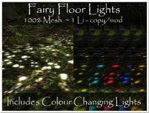 LOVE - FLOOR LIGHTS - TINTABLE AND COLOR CHANGING - 100% MESH