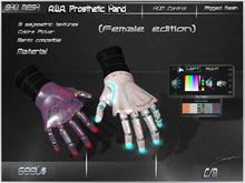 "A.W.A. Prosthetic Hands -Shu Mesh- ""Bento compatible"""