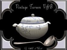 """CdT"" Vintage Tureen  V&B"