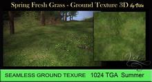 Vita's Textures - FRESH SPRING GRASS  3D Seamless 1024 2017