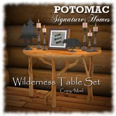 Wilderness Table Set