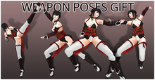 weapon poses GIFT