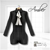 Belle Epoque { Amber } Black