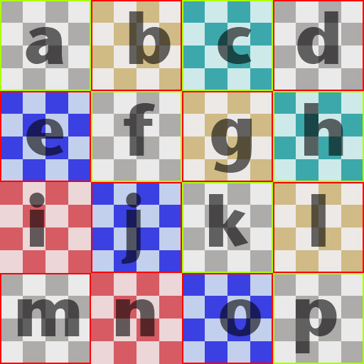 Grid Texture for Prim Texture Tests
