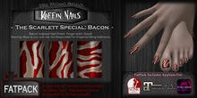 DP - Koffin Nails - FatPack - Scarlett Special: Bacon (Boxed)