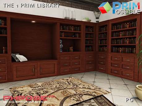 1 Prim Complete Library 300 Animations PG
