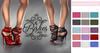 Bishes Inc Rope Heels 15 color options Maitreya / Belleza / Slink