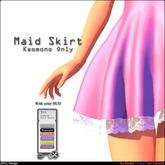 [SHi] Maid Skirt For Kemono Boxed