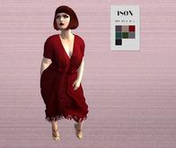 ISON - Purse bohemian fringe dress RARE