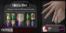 DP - Koffin Nails - FatPack - Mardi Gras Masquerade (Boxed)