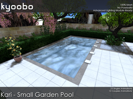 Second Life Marketplace Kari Small Garden Pool