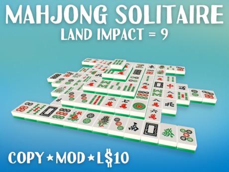 Play the Mahjong Solitaire Game (LI=9)