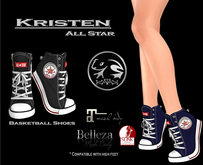 :.: Katak :.: All Star Kristen Black ( Basketball Shoes )