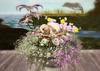 CJ Easter Planter Bunny + Lily ~ copy + mody ~