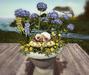 CJ Easter Planter Bunny + Hydrangea ~ copy + mody ~