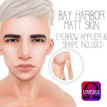 [Bay Harbor] Matt Skin (Omega) - Tint 1
