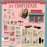 NX-Nardcotix - Le Confiserie Cash Register RARE