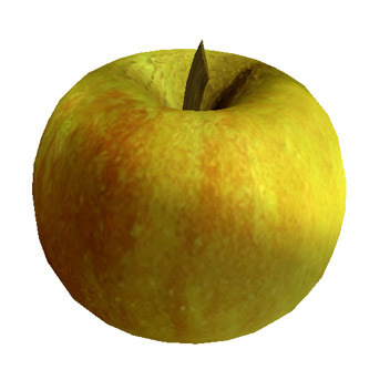 Apple , Apples fruits Cox's Pippin variety 2 Prim V2.0 by fruity arts