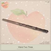 .peaches. Wand Two Three