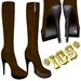 Boots dark brown