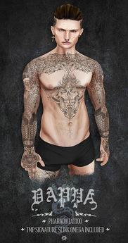 DAPPA - Pharaoh Tattoo.