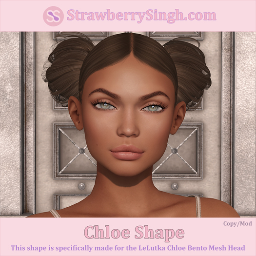 StrawberrySingh.com Chloe Shape