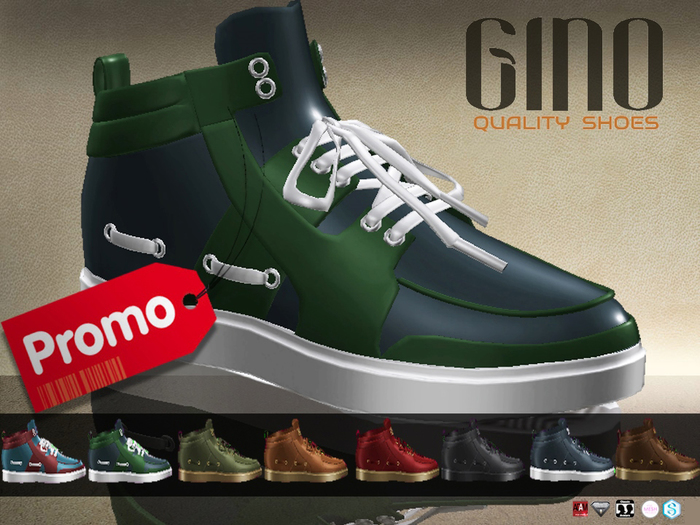 CA PROMO SAVE 75% GINO SNEAKERS FAT PACK