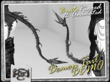 [EC] - Demon Tails DEMO (BENTO - Animated) (M/F)